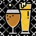 Glasses Beverage Glass Icon