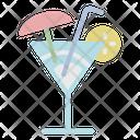 Beverage Cocktail Fresh Icon