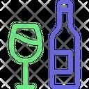 Beverage Bottle Glass Icon