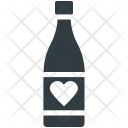 Beverage Heart Sign Icon