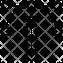 Bezier Vector Nodes Icon