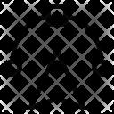 Bezier Design Curved Icon
