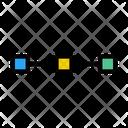 Bezier Line Icon