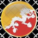 Bhutan National Holiday Icon