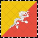 Bhutan Bhutanese Country Icon