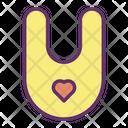 Ibib Bib Baby Bib Icon