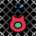 Bib Baby Cloth Icon