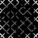 Jumpsuit Bib Umbrella Icon