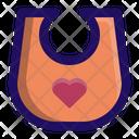 Bib Baby Wearing Icon