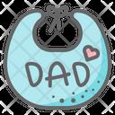 Bib Dad Icon