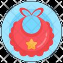 Baby Bib Bib Scarf Baby Handkerchief Icon