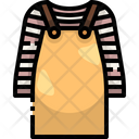 Bib Skirt Bib Skirt Icon