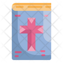 Bible Church Religion Icon