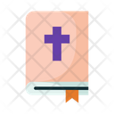 Bible Religious Text Holy Book Icon