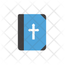 Bible Book Cross Icon