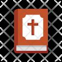 Bible Christianity Cross Icon