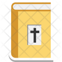 Bible Holy Cross Holy Book Icon