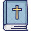 Bible Christian Book Funeral Icon