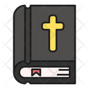 Bible Book Church Icon