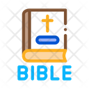 Holy Bible Christians Icon