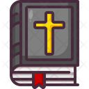 Bible Cristianism Sacred Scriptures Icon