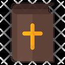 Bible Cross Religion Icon