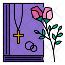 Bible Ceremony Church Icon