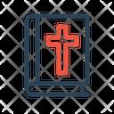 Bible Cross Jesus Icon