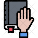 Bible Hand Law Icon