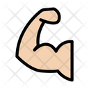 Gym Bicep Exercise Icon
