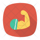 Bicep Fitness Muscle Icon