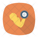 Biceps Weights Exercise Icon