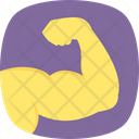 Biceps Muscular Arm Icon