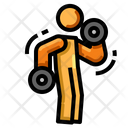 Biceps Exercise Icon