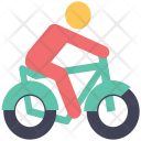 Bicycle Cycle Rider Icon