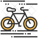 Bicycle Cycling Ride Icon