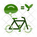 Bicycle Save Fuel Save Energy Icon