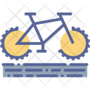 Bicycle Adventure Off Icon