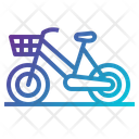 Bicycle City Bike Transportation Icon
