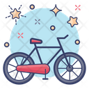 Bicycle Cycle Two Wheeler Icon