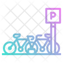 Bike Bicycle Parking Icon