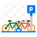 Bike Bicycle Parking Icon