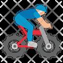 Bike Bicycle Mountain Icon