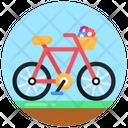 Vehicle Bicycle Bike Icon