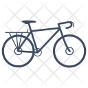 Bicycle Touring Icon