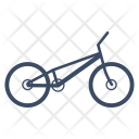 Bicycle Trial Icon
