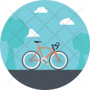 Transport Bicycle Tricycle Icon