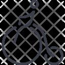 Balancer Bicycle Performance Icon