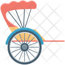 Bicycle Buggy Carriage Icon