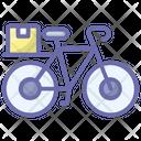 Bicycle Delivery Cycle Delivery Delivery Bike Icon